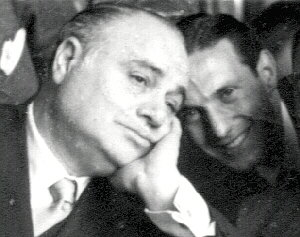 B. Gigli and M. Verso at the Grand Hotel delle Palme of Palermo