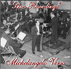 CD: Michelangelo Verso - Live Recordings
