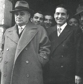 Beniamino Gigli and Michelangelo Verso in Monreale