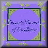 Susan's Award of Excellence